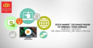 PSE Free Webinars for July 2016