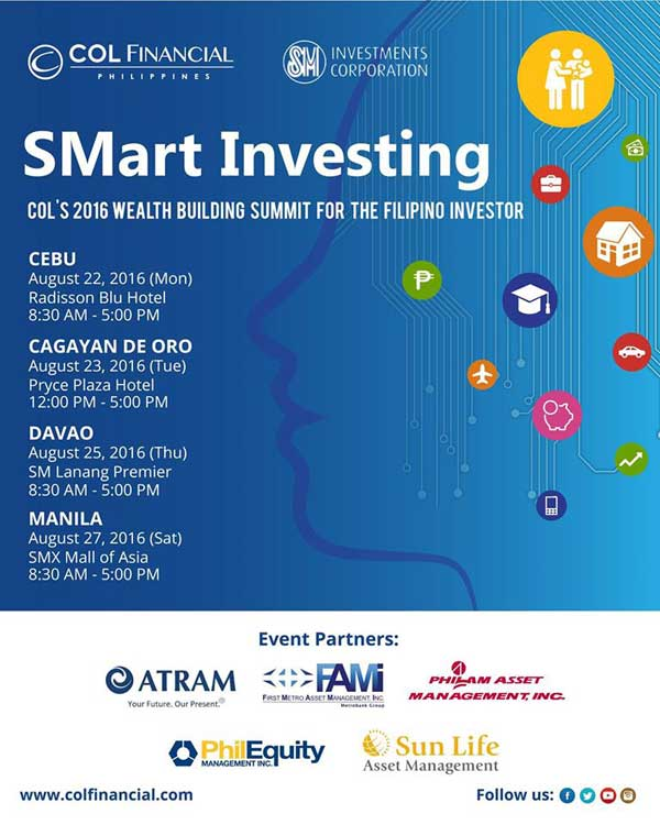 COL SMart Investing - Wealth Building Summit 2016